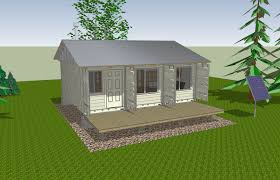 How To Build A Shed Roof House by How To Build Tin Can Cabin