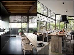 cuisine ouverte sur s駛our tendance déco la cuisine verrière lofts and interiors