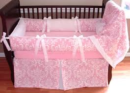 Lilac Damask Crib Bedding Decoration Grey Damask Crib Bedding Size Of Nursery And Owl