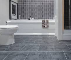 Ideas For Tiling Bathrooms Large Grey Slate Wall Tiles Another Gorgeous Example Of Brazilian