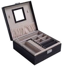 necklace organizer case images 6 slot watch display case wood box top glass jewelry jewelry jpg