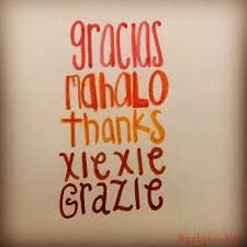 thank you in different languages happy thanksgiving