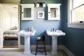 Blue Bathroom | 11 beautiful blue bathrooms