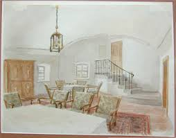 informal dining room long view adolf wikiart org