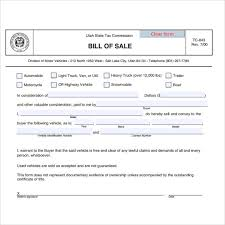 used car sale of a bill 7 download free documents in pdf word