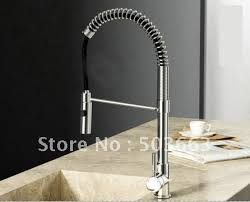 new pull out solied brass faucet swivel kitchen sink mixer tap