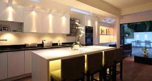 Contemporary Kitchen Lighting Kitchen Compact Flush Mount Fluorescent Kitchen Lighting 56