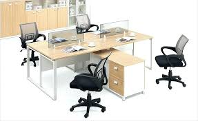 desk for 3 people 3 person office workstation new design glass office partition 4
