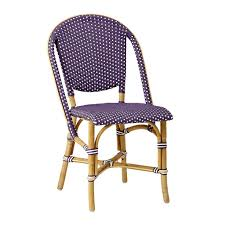 White Bistro Chair Sika Design Sofie Stacking Bistro Chair