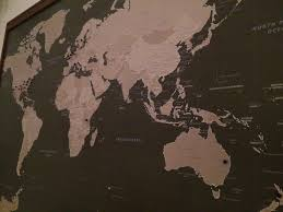 World Map With Pins by Push Pin Travel Map Review Mags On The Move