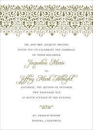 sle of wedding invitation sle of a wedding invitation wedding invitation
