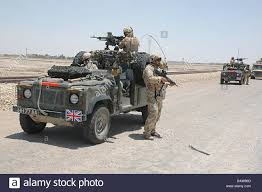 land rover queens dpa file soldiers of the 1st queen u0027s dragoon guards pictured