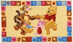 tappeti per bambini disney tappeto per bambini disney winnie the pooh e amici antiscivolo cm