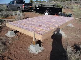 cabin floor cabin floor insulation modern shed