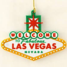 welcome to las vegas sign tree hanging ornament ebay