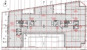 plan des bureaux bureaux à louer le mirage 69100 villeurbanne 43686 jll