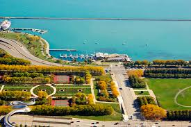 Map Of Chicago Il by Belmont Chicago Harbors Urban Fishing The Chicago Harbors