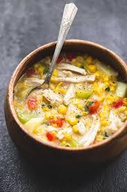 after thanksgiving turkey soup leftover turkey corn chowder creme de la crumb