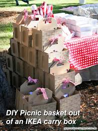 ikea birthday party picnic basket ikea malaysia picnic time vino basket with wine and