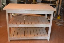how to build a kitchen island cart diy pallet kitchen cart photo our vintage home how to build a