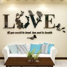 Modern Wall Stickers For Living Room Online Get Cheap Modern Decorative Mirror Aliexpress Com