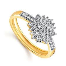 girls gold rings images Meenaz 24k fancy flower party wear ring traditional gold ring for jpg