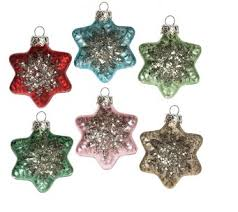 christmas sets glass christmas ornaments singles and boxed sets