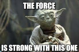 Yoda Meme Generator - the force yoda meme on memegen