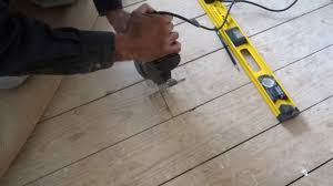 How To Cut Laminate Flooring With A Jigsaw How To Cut And Lift Floor Boards Youtube