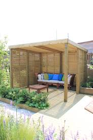 Garden Shelter Ideas A Contemporary Garden Shelter From Jacksons Fencing A Timber