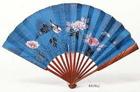 paper fan japanese paper fan museum collections up mnhs org