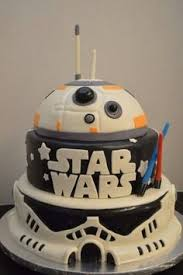 wars birthday cake amazing wars tiered cake for chewbacca bb8 and stormtropper