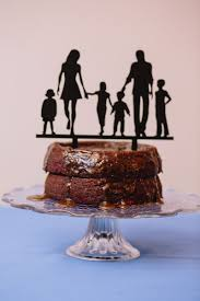 this blended family cake topper wins the brady bunch trophy