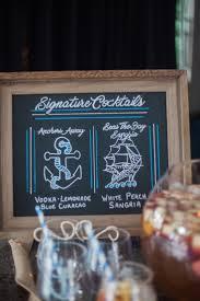 nautical graduation party signature drink signature cocktails