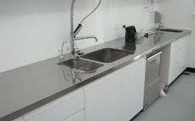 Stainless Steel Bench Top Stainless Steel Benchtops Classic Stainless Steel