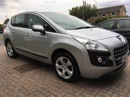 peugeot 3008 2012 peugeot 3008 sport hdi car full service history mot until may