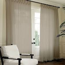 French Pleat Curtain Essina French Pleated Curtain Sheer 1 Layer Lacey Brown Lazada