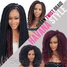 cuban twist hair freetress equal synthetic hair braids double strand style havana