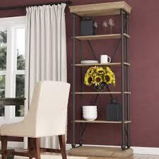 rustic bookcases you u0027ll love wayfair