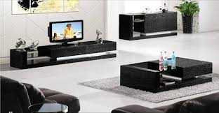 3 piece black coffee table sets black wood house furniture 3 piece set coffee table tv cabinet and