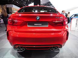 red bmw 2016 2016 naias bmw x6m rear motoring rumpus