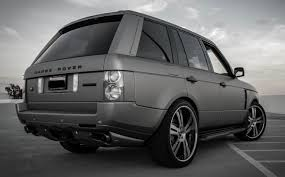 range rover back land rover range rover hse 2003 2010 vogue overfinch style rear