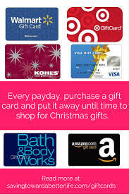gift cards buy christmas shopping tip buy gift cards all year saving