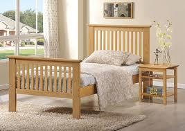 paris solid oak bed frame