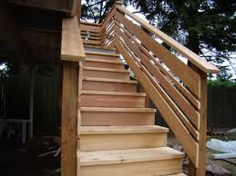 Deck Stairs Design Ideas Best 25 Deck Stair Railing Ideas On Pinterest Deck Stairs
