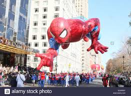 spider balloon float at macy s 85th annual thanksgiving day