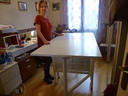 Table De Cuisine Rabattable Ikea by