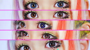 circle lenses review 5 favorite color contacts カラコン
