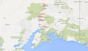 denali national park map 8 days in alaska part 2 talkeetna denali national park palmer