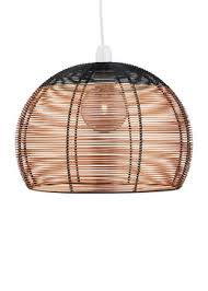 wire cage l shade lighting great quality lighting products for every room matalan